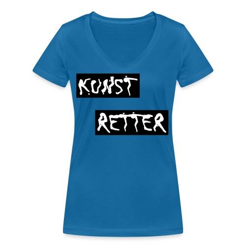 Kunstretter 20.1 - Frauen Bio-T-Shirt mit V-Ausschnitt von Stanley & Stella