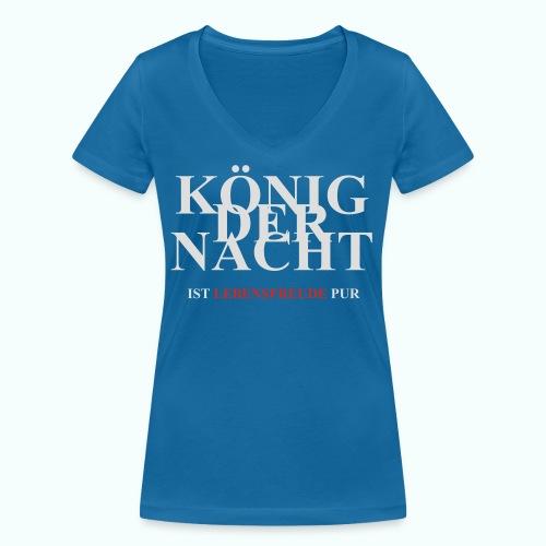 KÖNIG DER NACHT - Frauen Bio-T-Shirt mit V-Ausschnitt von Stanley & Stella
