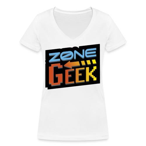 NEW Logo T-Shirt Femme - T-shirt bio col V Stanley & Stella Femme
