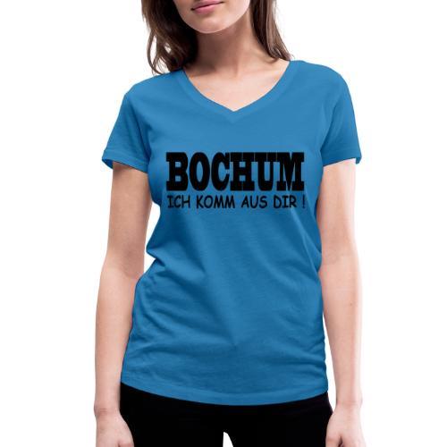 Bochum - Ich komm aus dir! - Frauen Bio-T-Shirt mit V-Ausschnitt von Stanley & Stella