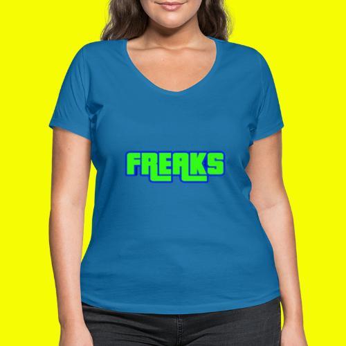 YOU FREAKS - Frauen Bio-T-Shirt mit V-Ausschnitt von Stanley & Stella