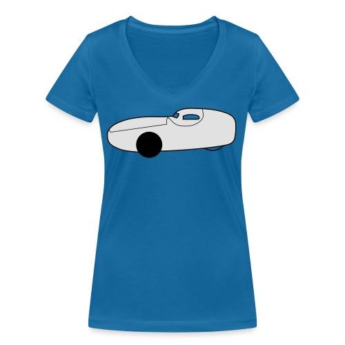 GO-One K 2c - Frauen Bio-T-Shirt mit V-Ausschnitt von Stanley & Stella