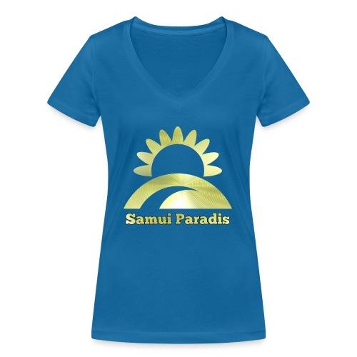 Logopit 1522877763118 1 - T-shirt bio col V Stanley & Stella Femme