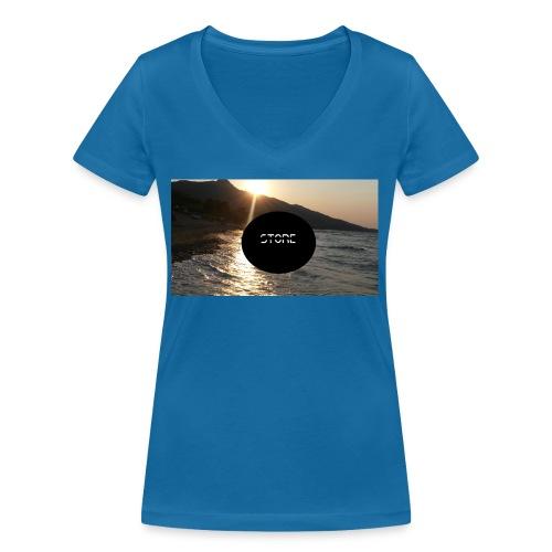 Mousepad - Frauen Bio-T-Shirt mit V-Ausschnitt von Stanley & Stella