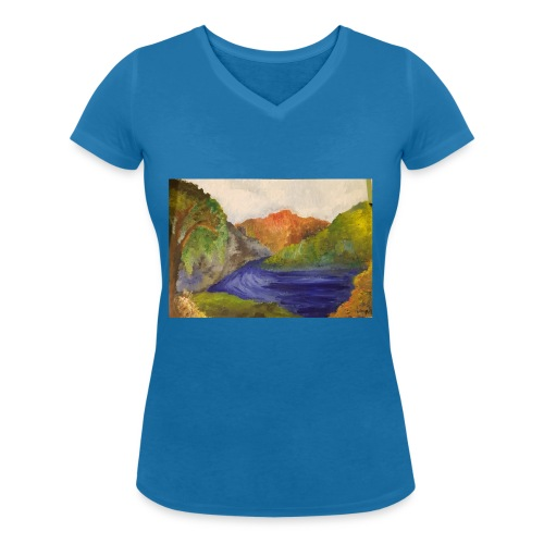 flo 1 - Women's Organic V-Neck T-Shirt by Stanley & Stella
