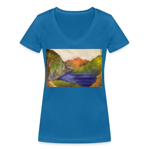 flo 1 - Women's Organic V-Neck T-Shirt by Stanley & Stella