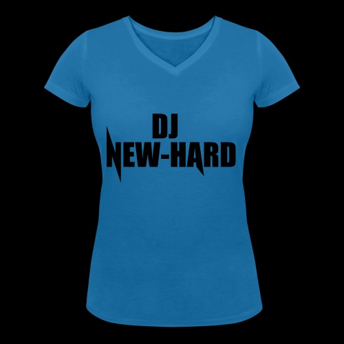 DJ NEW-HARD LOGO - Vrouwen bio T-shirt met V-hals van Stanley & Stella