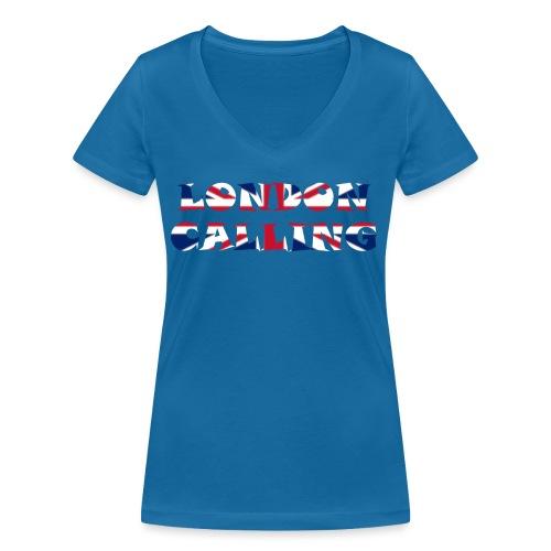 London 21.1 - Frauen Bio-T-Shirt mit V-Ausschnitt von Stanley & Stella