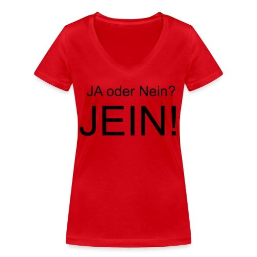 JEIN! - Frauen Bio-T-Shirt mit V-Ausschnitt von Stanley & Stella