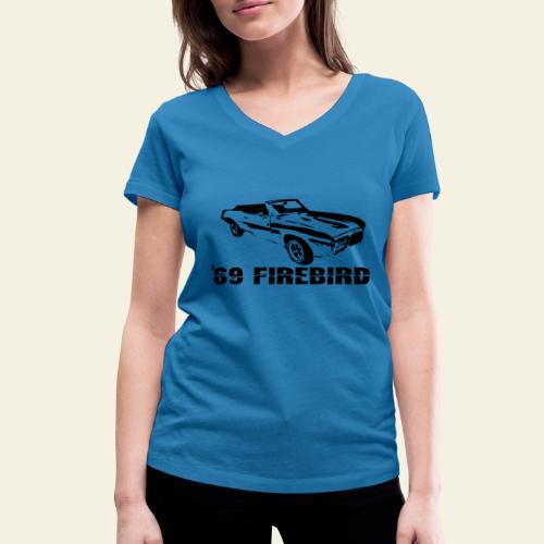 firebird small - Økologisk Stanley & Stella T-shirt med V-udskæring til damer