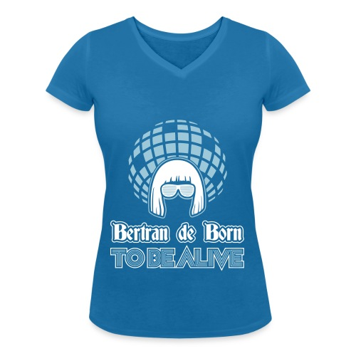 B2B to be Alive - T-shirt bio col V Stanley & Stella Femme