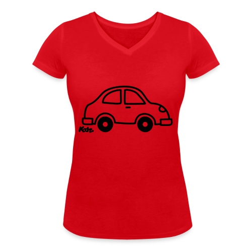 Auto - Frauen Bio-T-Shirt mit V-Ausschnitt von Stanley & Stella