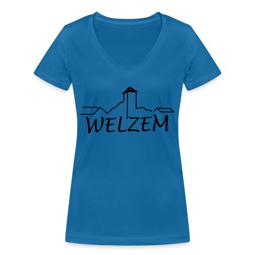 Welzem - Frauen Bio-T-Shirt mit V-Ausschnitt von Stanley & Stella