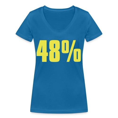 48% - Women's Organic V-Neck T-Shirt by Stanley & Stella