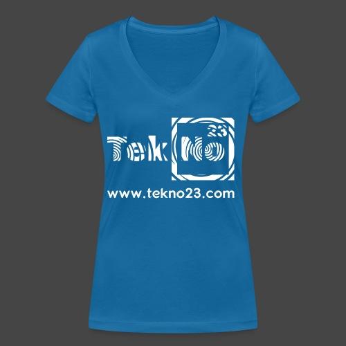 tekno 23 - T-shirt bio col V Stanley & Stella Femme