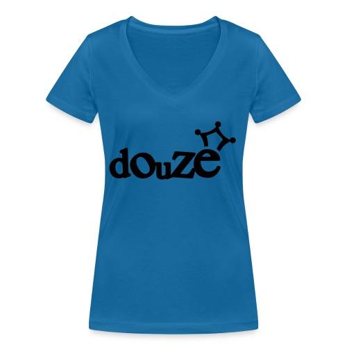 logo_douze - T-shirt bio col V Stanley & Stella Femme