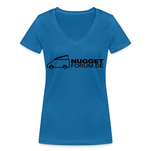 Nuggetforum Aufkleber Auf - Frauen Bio-T-Shirt mit V-Ausschnitt von Stanley & Stella
