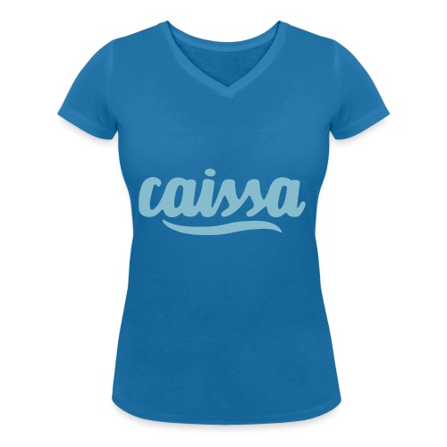 caissa logo - Frauen Bio-T-Shirt mit V-Ausschnitt von Stanley & Stella