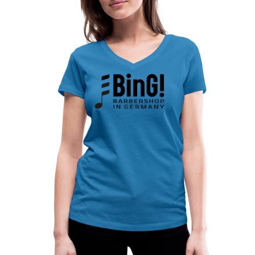 BinG Logo - Frauen Bio-T-Shirt mit V-Ausschnitt von Stanley & Stella
