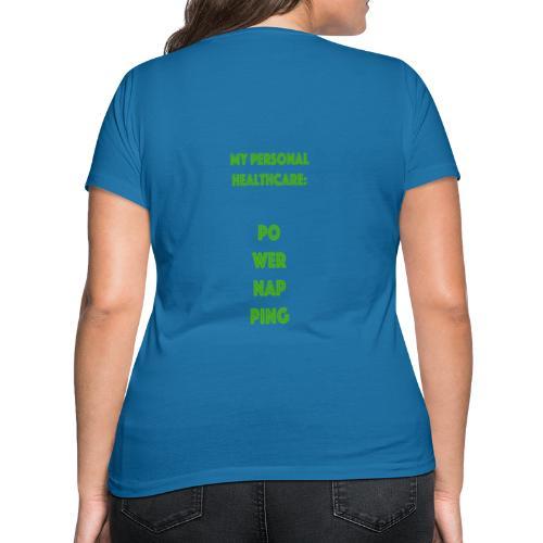 Powernapping - Frauen Bio-T-Shirt mit V-Ausschnitt von Stanley & Stella