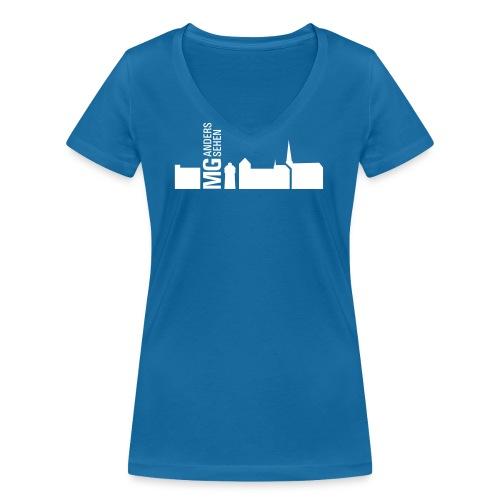 karte - Frauen Bio-T-Shirt mit V-Ausschnitt von Stanley & Stella