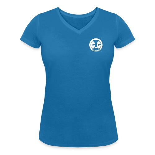 cc Blanc - T-shirt bio col V Stanley & Stella Femme