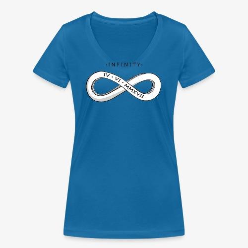 Infinity + Vivify - Women's Organic V-Neck T-Shirt by Stanley & Stella