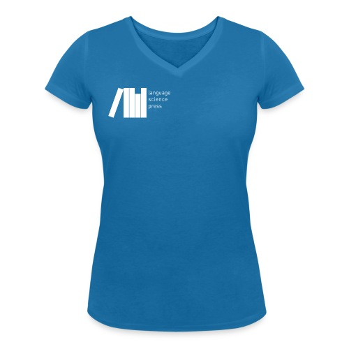 logo weiss png - Women's Organic V-Neck T-Shirt by Stanley & Stella