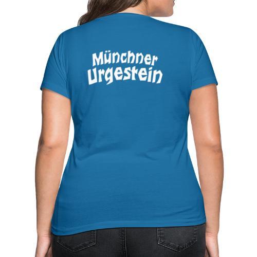 Münchner Urgestein - Frauen Bio-T-Shirt mit V-Ausschnitt von Stanley & Stella