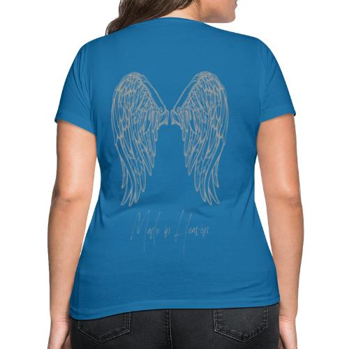 heaven - Camiseta ecológica mujer con cuello de pico de Stanley & Stella