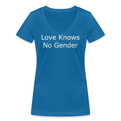 Binet Vorderseite 2 - Frauen Bio-T-Shirt mit V-Ausschnitt von Stanley & Stella