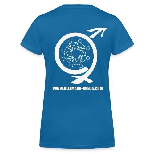Allemann_Logo+Schrift_T-S - Frauen Bio-T-Shirt mit V-Ausschnitt von Stanley & Stella