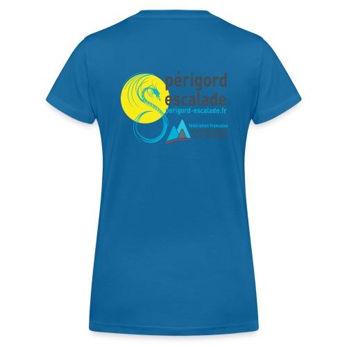 Périgord Escalade - T-shirt bio col V Stanley & Stella Femme