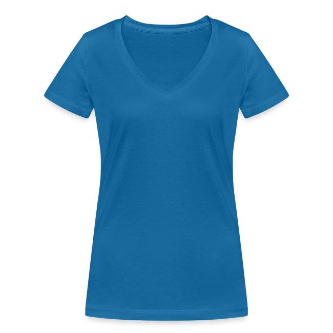 Vorschau: Pferdenarr - Frauen Bio-T-Shirt mit V-Ausschnitt von Stanley & Stella