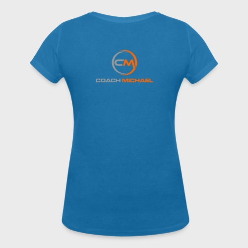 Coach Michael Personal Training & Coaching - Frauen Bio-T-Shirt mit V-Ausschnitt von Stanley & Stella