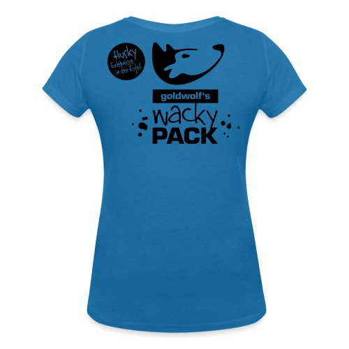 wackypack_final - Frauen Bio-T-Shirt mit V-Ausschnitt von Stanley & Stella