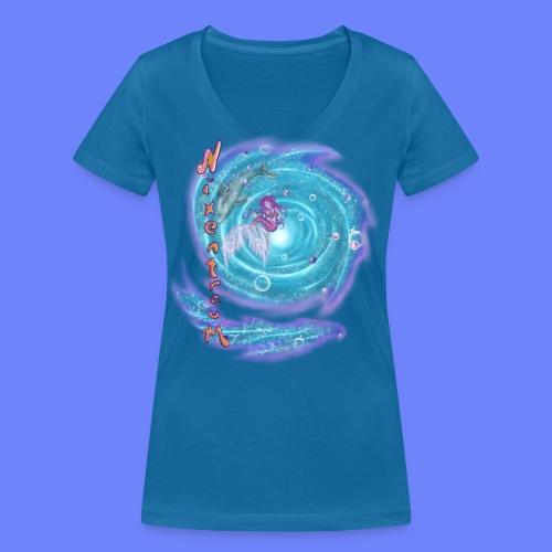 nixentraum - Frauen Bio-T-Shirt mit V-Ausschnitt von Stanley & Stella