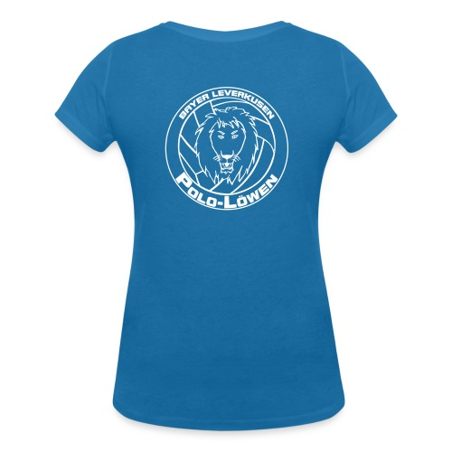 Polo Löwen einfarbig - Frauen Bio-T-Shirt mit V-Ausschnitt von Stanley & Stella