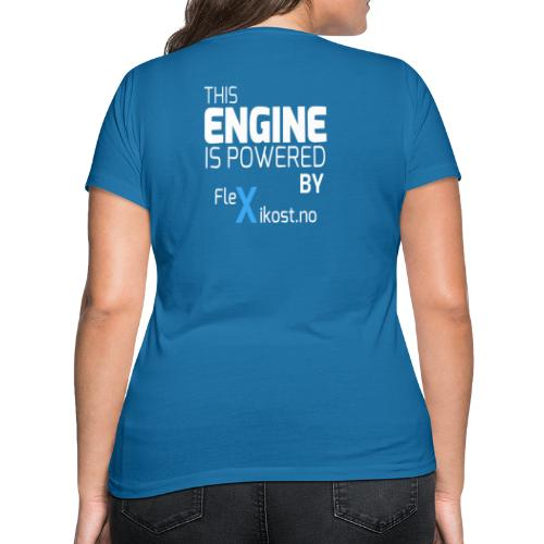 this engine - Økologisk T-skjorte med V-hals for kvinner fra Stanley & Stella