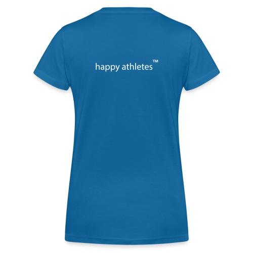 happy athletes - quer - Frauen Bio-T-Shirt mit V-Ausschnitt von Stanley & Stella