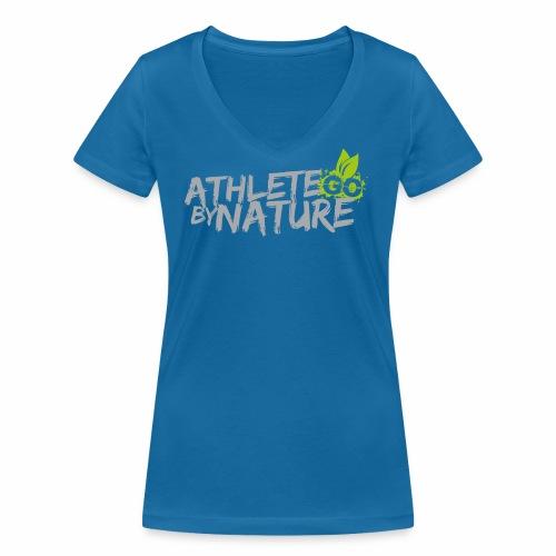 GO  Athlete by Nature Ladys - Frauen Bio-T-Shirt mit V-Ausschnitt von Stanley & Stella