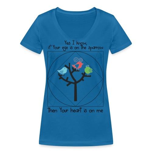 prayklein - Frauen Bio-T-Shirt mit V-Ausschnitt von Stanley & Stella