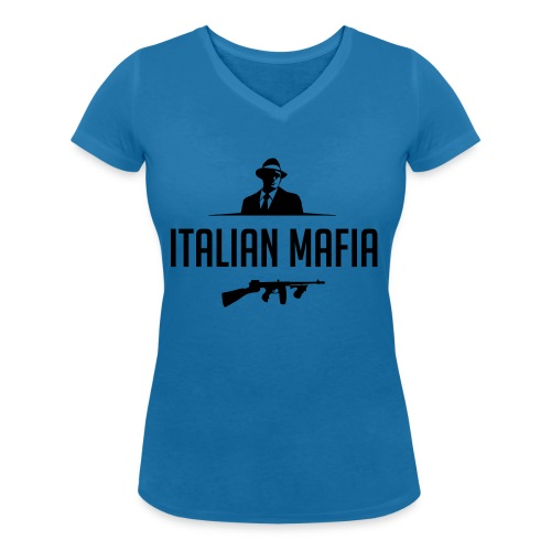 italian mafia - T-shirt ecologica da donna con scollo a V di Stanley & Stella