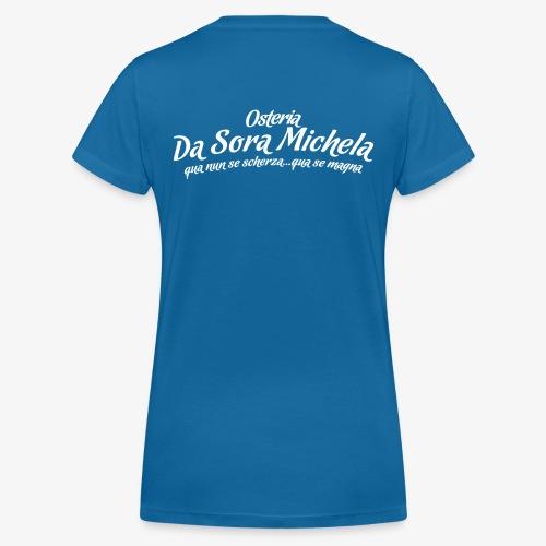 Osteria da sora michela - T-shirt ecologica da donna con scollo a V di Stanley & Stella