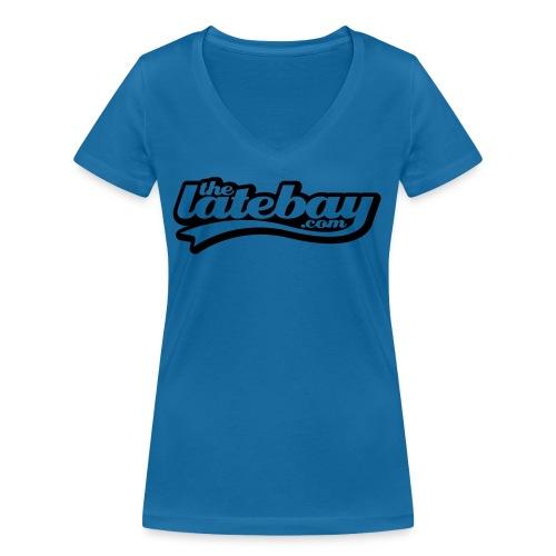 tlb tshirt01 type small 135mm width - Women's Organic V-Neck T-Shirt by Stanley & Stella