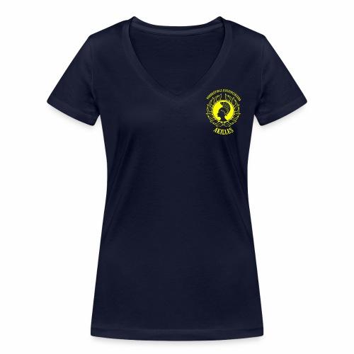 NBKALogga - Ekologisk T-shirt med V-ringning dam från Stanley & Stella