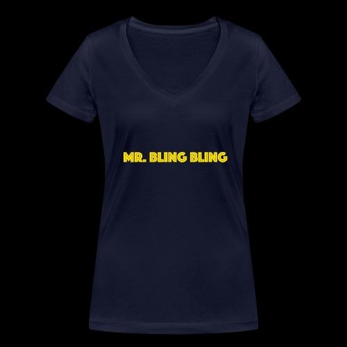 bling bling - Frauen Bio-T-Shirt mit V-Ausschnitt von Stanley & Stella