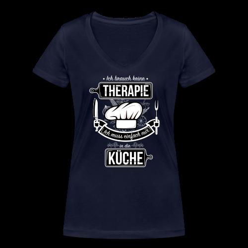 Kochtherapie - Women's Organic V-Neck T-Shirt by Stanley & Stella