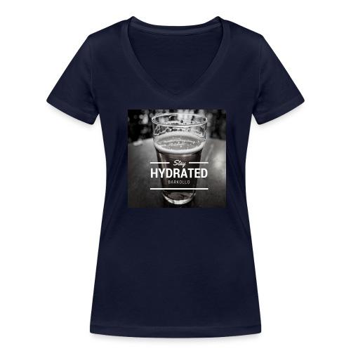 Stay Hydrated beer - T-shirt ecologica da donna con scollo a V di Stanley & Stella