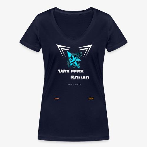 Camiseta WS - Camiseta ecológica mujer con cuello de pico de Stanley & Stella